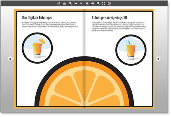 Öppna den Digitala Tidningen